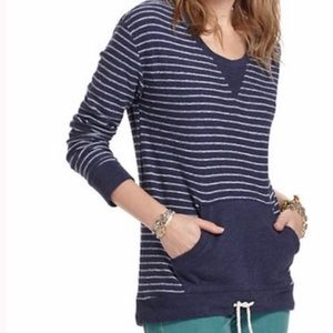 Saturday Sunday Striped Pullover Terry Shirt